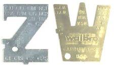 91021 + 89790000001 Walbro & Zama ZT-1 500-13 Metering Lever Adjustment Tools!!