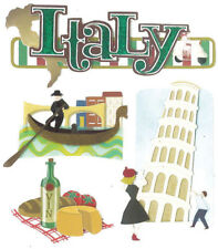 Italy Travel Jolee's Boutique Dimensional Stickers SPJB630 New