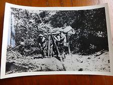 Lot11 - WW2 Original Photo ASIA Soldiers ARMY Engineers ? 1945 BURMA