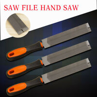 Saw File Hand Saw For Sharpening& Straightening Wood Rasp Woodworking Handtools
