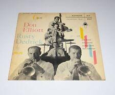 "DON ELLIOTT LP w/ RUSTY DEDRICK  Six 6 VALVES Riverside 10"" Ten Inch Jazz"
