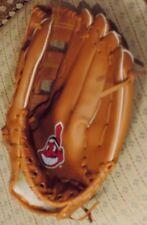 MLB Cleveland Indians MBNA Promo Glove Baseball CHIEF WAHOO LOGO not athlete use