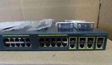 Cisco 2960G WS-C2960G-24TC-L 24 Port Gigabit Network Switch 1Yr Warranty Tax Inv