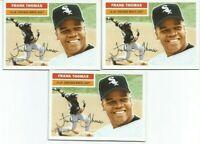FRANK THOMAS (Chicago White Sox) 2005 TOPPS HERITAGE BASEBALL CARD #153