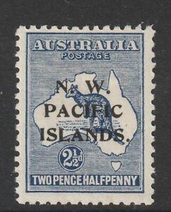 N.W.Pacific Islands - 2d.1/2 Blue Kangaroo - 3rd Watermark - Mint Hinged