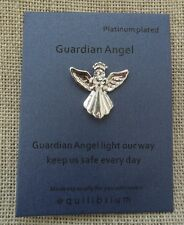 Guardian Angel Light our way Keep us safe every day Pin Brooch Gift