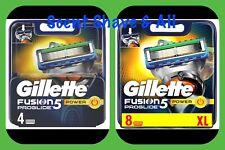 Gillette Fusion ProGlide POWER Razor Blades - 100% Genuine FAST FREE P&P