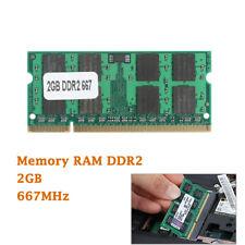 Laptop Memory RAM DDR2 PC2 5300 667MHz 200 Pin SODIMM Non-ECC CL5 2GB 2G Module