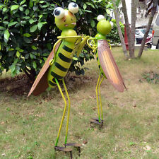 Metal Locust Garden Ornament Bugs Ornament 70cm Height Handmade Insects Animal