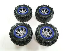 NEW TRAXXAS SUMMIT 1/10 Wheels & Tires Purple Geode RM25P