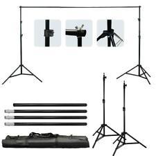 Kshioe Adjustable Photography Background Support Stand Photo Studio Backdrop Set