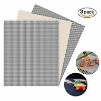 3 Pack BBQ Grill Mats Grilling Outdoor Cooking & Eating BBQ Tools KC01