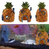 Mignon SpongeBob Maison Fish Tank Aquarium Décoration Pour Enfants Cadeau