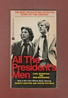 All the President's Men by Bob Woodward and Carl Bernstein (1976, Paperback)