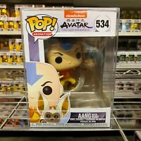 "Funko Pop Avatar The Last Airbender : AANG w/Momo #534 Vinyl Figure ""MINT"""
