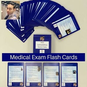 Medical flash cards - CANPASSWILLPASS MSRA / AKT / MRCGP / PLAB
