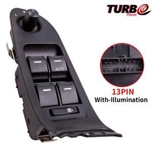 Master Window Mirror Switch Illuminated Fit Ford Falcon FG FGX XR6 G6E 4 Door