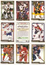 1992-93 Topps Gold Pittsburgh Penguins Complete Team Set (26)