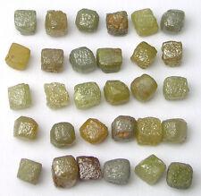 10+ Carat Natural CUBES Rough Diamond Diamonds 1/3 pc
