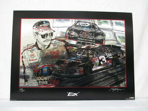 Dale Earnhardt The Intimidator Goodwrench Sam Bass E2K Nascar Racing Lithograph