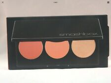 SMASHBOX  L.A. LIGHTS BLUSH & HIGHLIGHT PALETTE - CULVER CITY CORAL - NEW IN BOX
