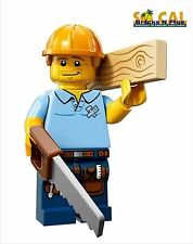LEGO MINIFIGURES SERIES 13 71008 Carpenter New