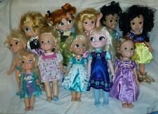 LOT OF 11 DISNEY STORE ANIMATOR PRINCESS COLLECTOR DOLLS