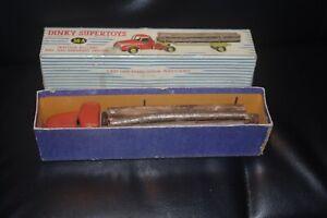 dinky toys camion semi remorque willeme fardier porte bois 36 en boite