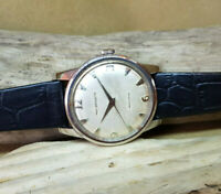 USED VINTAGE PAUL BREGUETTE SILVER DIAL AUTOMATIC MAN'S WATCH