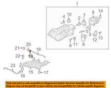 PORSCHE OEM 01-13 911 Headlight Head Light Lamp-Rod Washer 90011600409
