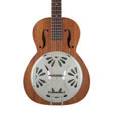 Gretsch G9200 Boxcar Round-neck Mahogany Body Resonator Guitar Natural