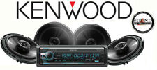 """Kenwood Excelon Kdc-X502 Cd Receiver w/ 2 Pairs of Ts-G1645R 6.5"""" 2-way Speakers"""