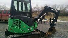 Hydraulic thumb claw John Deere 26G 27D & Hitachi ZX27 & Mini Excavator Pin On