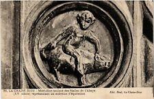 CPA  La Chaise-Dieu - Médaillon sculpté des Stalles de l'Abaye (XV s. )(585452)