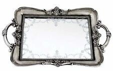 Vintage style mirrored dressing table tray for jewellery or trinkets-NEW