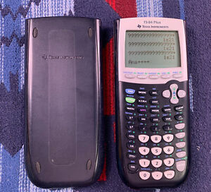 TEXAS INSTRUMENTS TI-84 Plus Ti 84 Plus Graphing Calculator Black with Cover