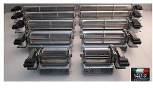 Ventilatore tangenziale SINISTRO O DESTRO 230 V termo camino per stufa a pellet