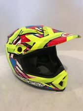 Bell MX-9 MIPS Tagger Double Trouble Helmet Hi-Viz Yellow Large