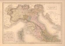 Antique European Maps & Atlases Italy 1800-1899 Date Range