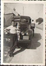 PHOTO VEHICULE UTILITAIRE CAMION LORRY A IDENTIFIER BERLIET ? 1950
