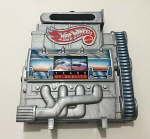 Hotwheels by Mattel 25 Years of Quality Carry Case
