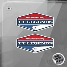PEGATINA HONDA RACING TT LEGENDS VINILO VINYL STICKER DECAL AUTOCOLLANT