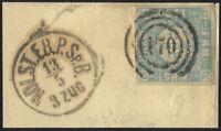 SCHLESWIG-HOLSTEIN, MiNr. 6, schönes Briefstück, Befund Möller, Mi. 75,-