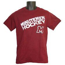 UMass Minutemen Hockey Step Ahead Angle Maroon T-Shirt - Small
