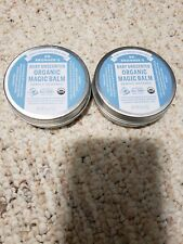 2 X Dr. Bronner's  Baby Unscented Organic Magic Balm, 2 oz each NEW & SEALED