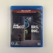 Monsters, Inc. 3D (3D Blu-ray, 2013) *New & Sealed*