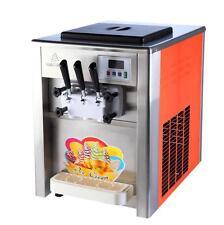 3 commerciale sapore morbido Gelato Macchina Coni gelato Morbido Maker 220/110 SJ