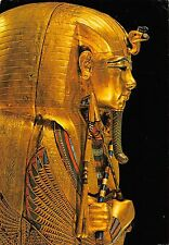 Egypt Cairo Museum Tutankhamen Treasures Second coffin gold semi-precious stones