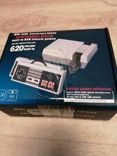 Retro Klassische Spielekonsole Eingebautes 620-Spiel mit 2 Joysticks, Videospiel