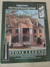 The Magazine  - STONE CARVINGS, EXPERIENCE OLD WORLD STONE CARVING1998.